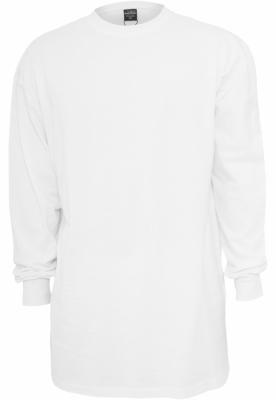 Tricou larg cu maneca lunga barbati alb Urban Classics