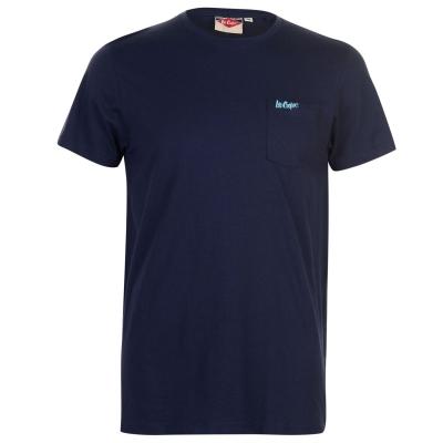 Tricou Lee Cooper Essentials cu buzunar pentru Barbati bleumarin