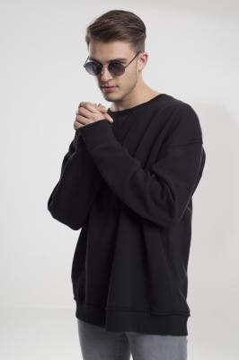 Tricou lejer cu maneca lunga negru Urban Classics
