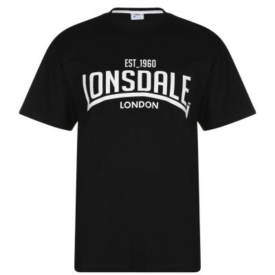 Tricou Lonsdale pentru Barbati negru