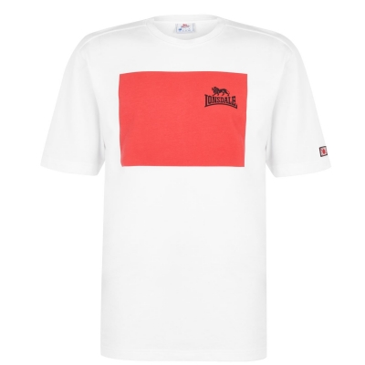 Tricou Lonsdale Japan pentru Barbati alb square