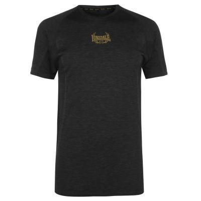 Tricou Lonsdale MTK Pro Range pentru Barbati negru auriu