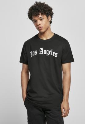 Tricou Los Angeles Wording negru Mister Tee