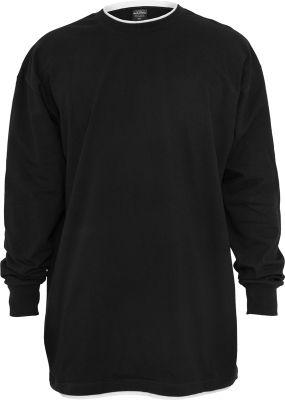 Tricouri barbati contrast negru-alb