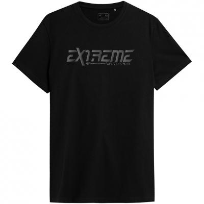 Tricou Male 4F negru intens H4Z21 TSM015 20S
