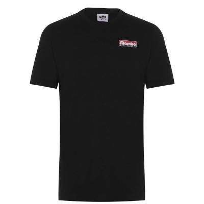 Tricou Mambo pentru Barbati negru logo