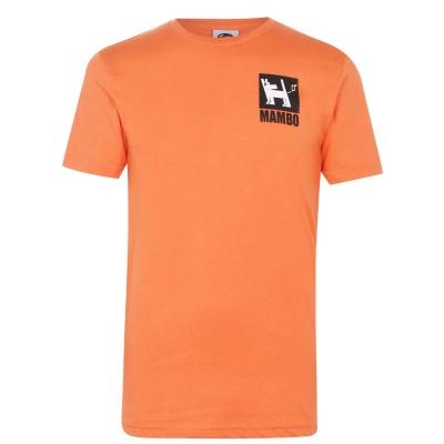 Tricou Mambo pentru Barbati portocaliu