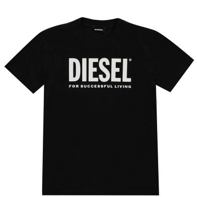 Tricou cu imprimeu Diesel Core negru