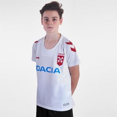 Tricouri Hummel Anglia pentru copii alb
