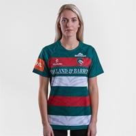 Tricouri Kukri Leicester pentru femei verde rosu