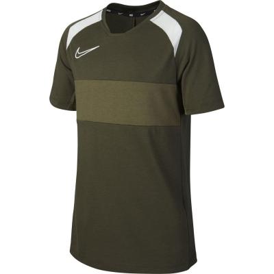 Tricou maneca scurta Nike Academy pentru baietei cargo kaki