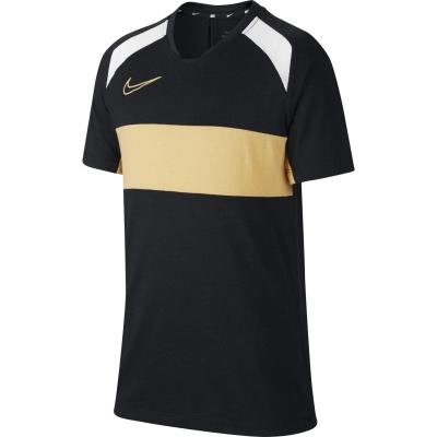 Tricou maneca scurta Nike Academy pentru baietei negru