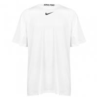 Tricou maneca scurta Nike Np pentru barbati alb