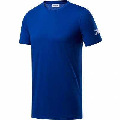 Tricou maneca scurta Reebok barbati Wor We Commercial albastru FP9100