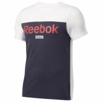 Tricou maneca scurta Reebok TE BL alb-albastru-rosu FI1949 pentru Barbati