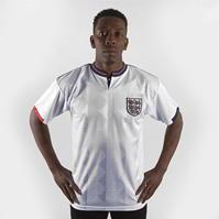 Tricou Score Draw Draw Anglia cu maneca scurta pentru Barbati alb