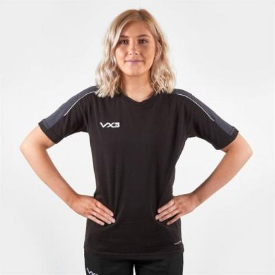 Tricou VX-3 Pro cu Maneca Scurta pentru femei negru gri carbune