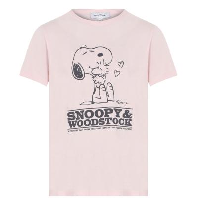 Tricou MARC JACOBS Snoopy pentru fetite rosu