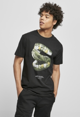 Tricou Money Mouth negru Mister Tee