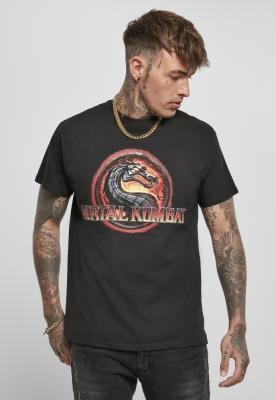 Tricou Mortal Kombat Logo negru Merchcode