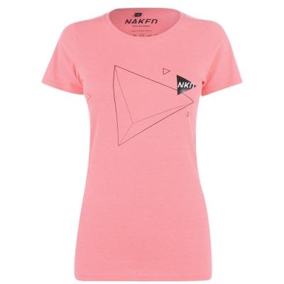 Tricou Naked Hockey pentru Femei roz