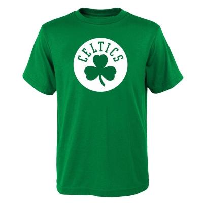 Tricou cu imprimeu NBA pentru Barbati verde
