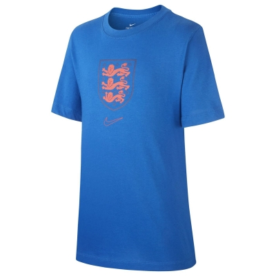 Tricou Nike Anglia Crest 2020 pentru copii albastru roial