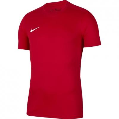 Tricou Nike Dry Park VII JSY SS rosu For BV6741 657 pentru Copii