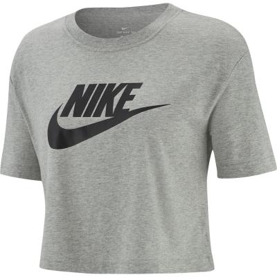 Tricou Nike Futura Cropped gri