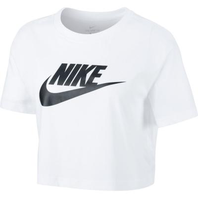 Tricou Nike Futura Cropped alb