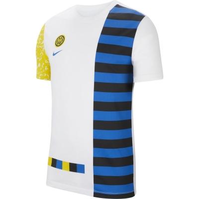 Tricou Nike Inter Milan Ignite Salone pentru Barbati alb multicolor
