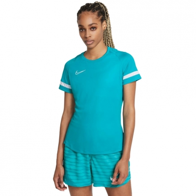 Tricou Nike NK Df Academy 21 Top Ss albastru CV2627 356 pentru femei