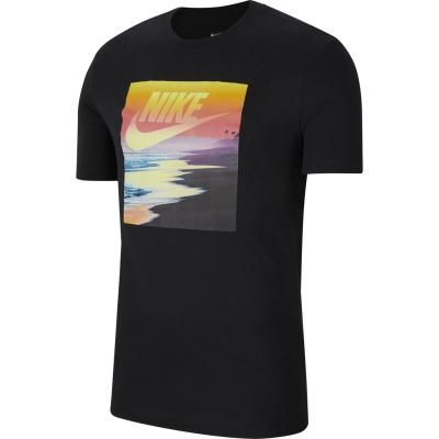 Tricou Nike NSW Print pentru Barbati negru multicolor
