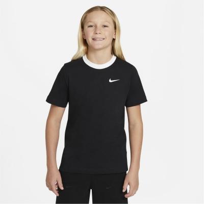 Tricou Nike Sportswear Big () pentru baieti pentru Copii negru