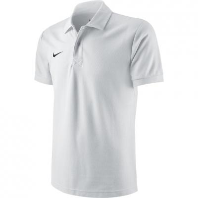 Tricou polo Nike Team Core alb 454800 100 barbati