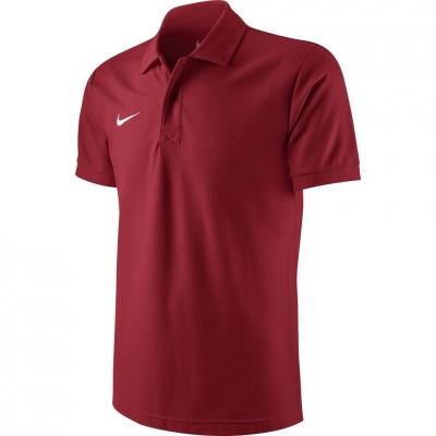 Tricou Nike Team Core Polo rosu 454800 657 barbati