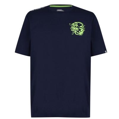 Tricou No Fear Core Graph pentru Barbati bleumarin verde
