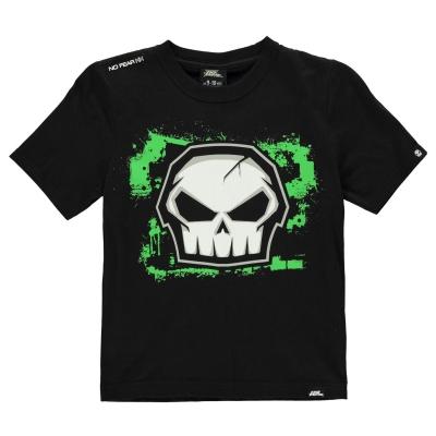 Tricou No Fear Core imprimeu Graphic pentru baietei negru