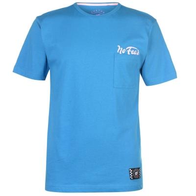 Tricou No Fear Custom Motox Detail pentru Barbati albastru