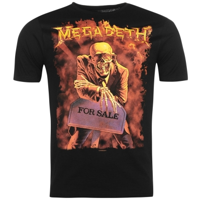Tricou Official Megadeth Band
