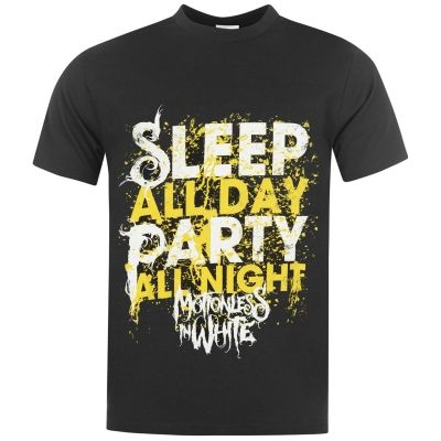 Tricou Official Motionless In alb