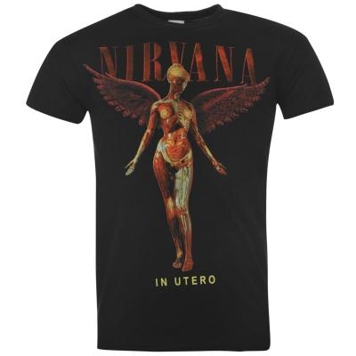 Tricou Official Nirvana pentru Barbati