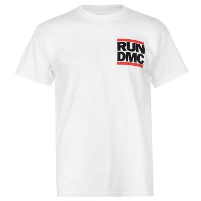 Tricou Official Official Run DMC alb logo fb