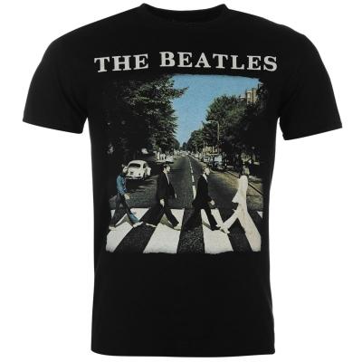 Tricou Official The Beatles negru road logo