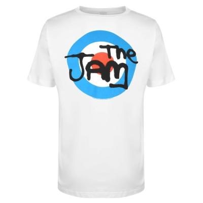 Tricou Official The Jam alb logo