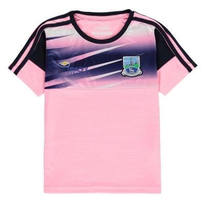 Tricou ONeills Fermanagh pentru fete roz bleumarin