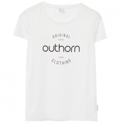 Tricou Outhorn alb HOL21 TSD606A 10S pentru femei