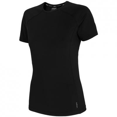 Tricou Outhorn negru intens HOZ20 TSDF600 20S pentru femei