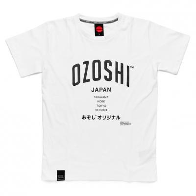 Tricou Ozoshi Atsumi alb TSH O20TS007 pentru Barbati