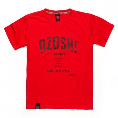 Tricou Ozoshi Atsumi rosu TSH O20TS007 pentru Barbati